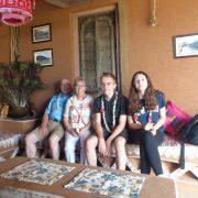 Famille Levillain - Papy / Mamy et 2 des 9 petits-enfants