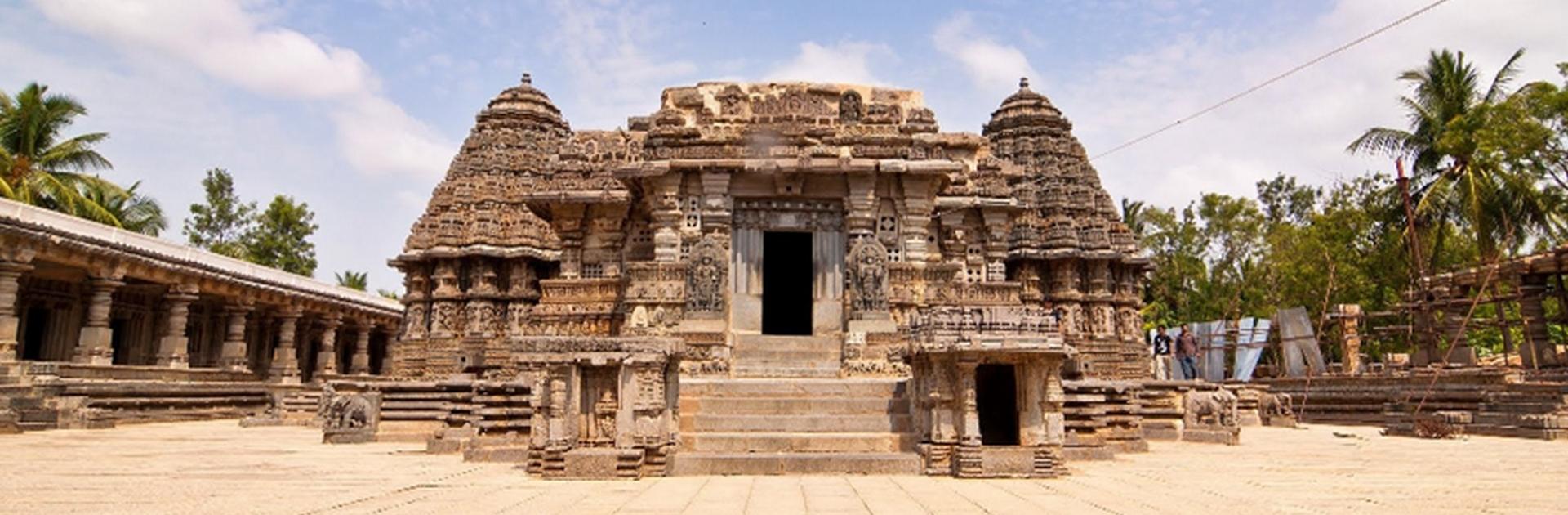 Temple au Sud de l'Inde