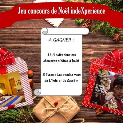Jeu Concours De Noel Indexperience Gagnez 3 Nuits A Delhi
