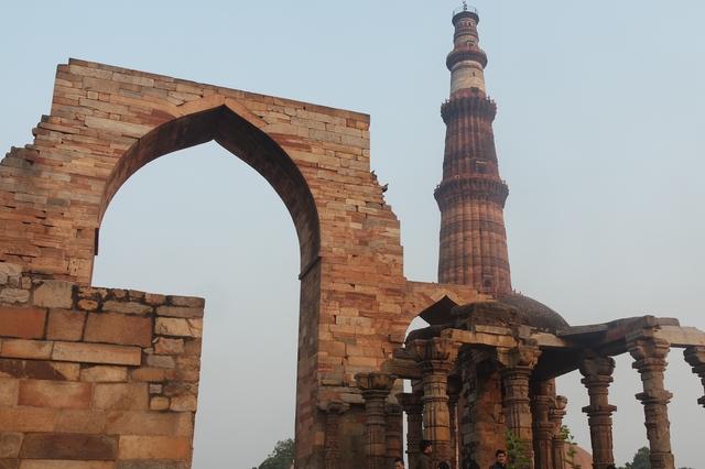 Minaret Qutab minar Delhi