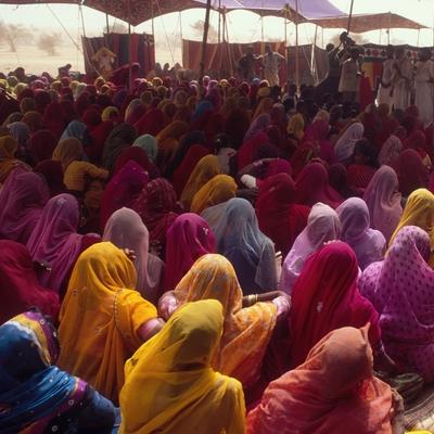 Femmes au Rajasthan