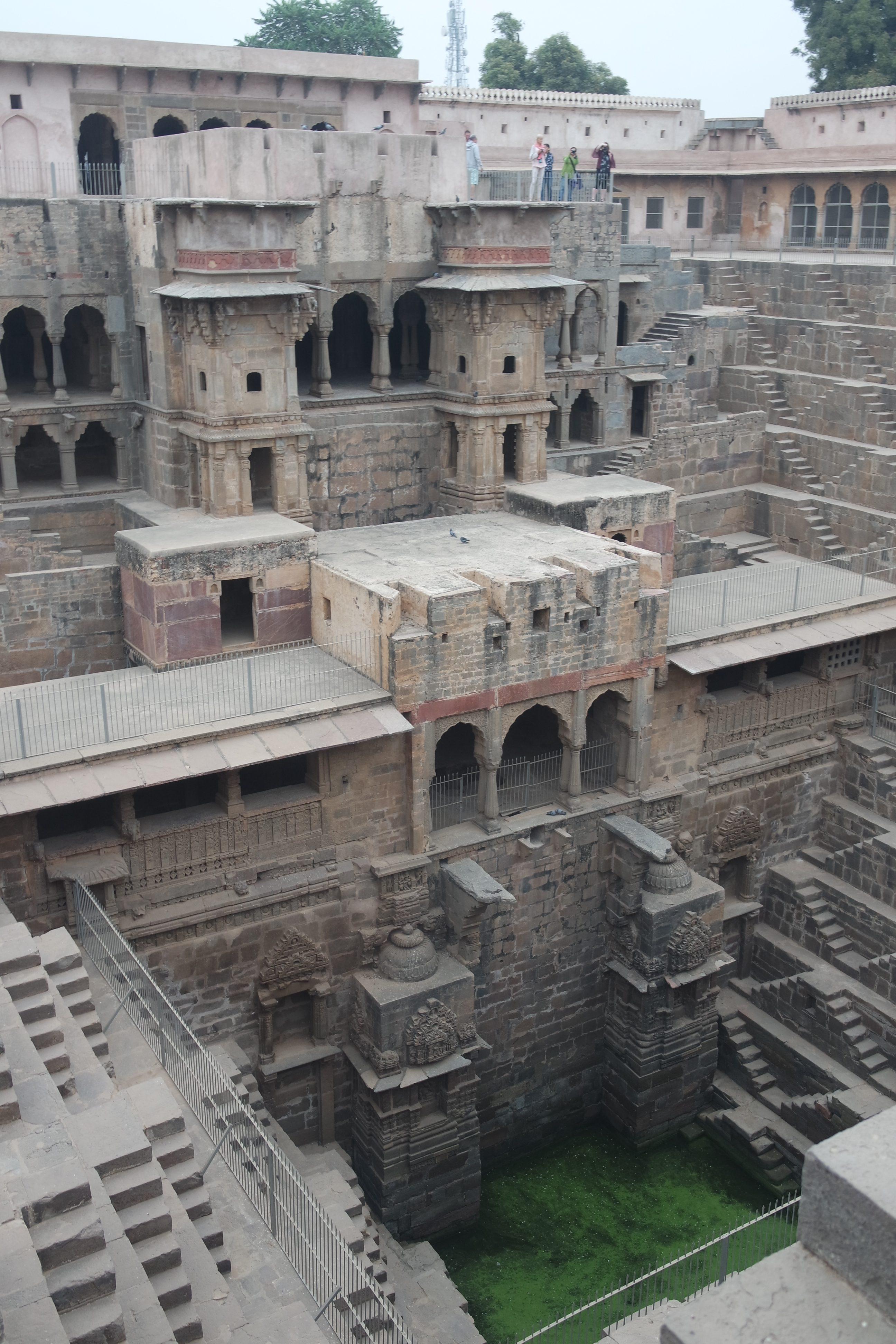 Puit à degrés Jaipur
