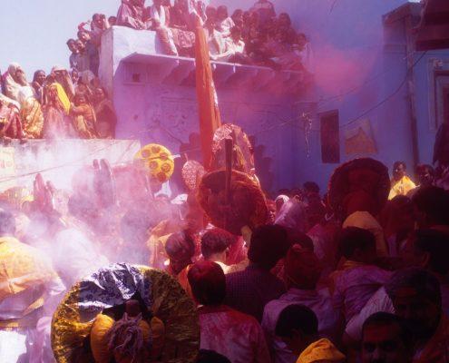 Holi Célébration du Printemps en Inde