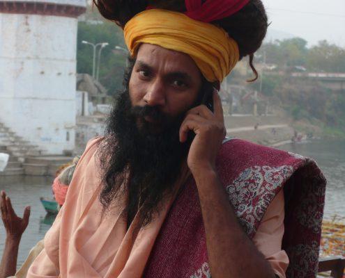 Le rendez-vous sacré des sadhus : Allahabad